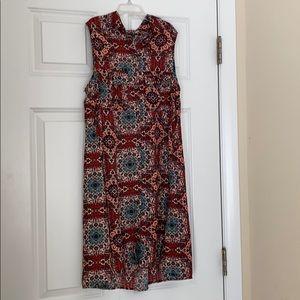Bohemian Button Down Dress